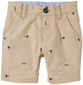 HUGO BOSS Bermuda With Palms Print (Toddler/Kid) - Beige - 3A