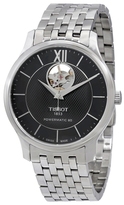 Tissot Tradition Automatic Black Dial Men's Watch, 40mm