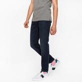 Paul Smith Men's Slim-Fit 11.8oz Over-Dyed Wash 'Super Soft Cross-Hatch' Stretch-Denim Jeans