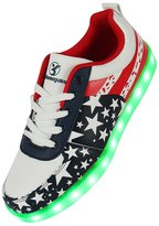 Shinmax LED Shoes LED Sneakers Shoes-CE certification 7 Colors Changing Flashing Sport Shoes USB charging