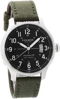 Filson by Shinola Mackinaw Field Men's Watch Stainless Made in USA F0120072833