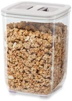 Oggi OggiTM 62 fl. oz. Stack-N-Store Square Canister with White Lid