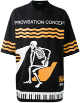 Undercover skeleton print T-shirt
