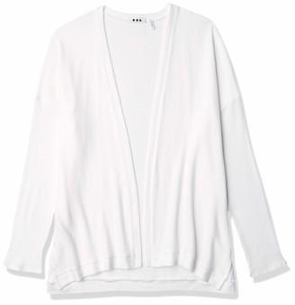 Three Dots Women's Soft Brush Sweater Knit Open Cardigan