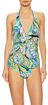 Trina Turk Nomad Paisley One Piece Swimsuit