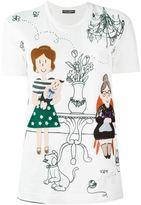 Dolce & Gabbana appliqué detail T-shirt