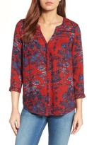 Lucky Brand Women's Vintage Print Top