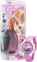 Nickelodeon Paw Patrol Watch with Cylinder Tin Coin Bank