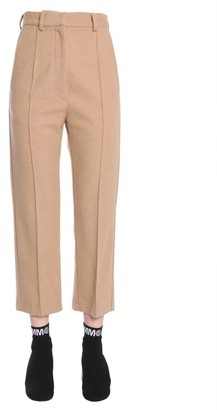 MM6 MAISON MARGIELA Tapered Cropped Trousers