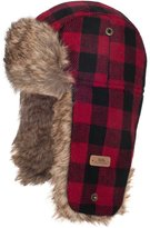 Trespass Kids Boys Corban Check Winter Trapper Hat
