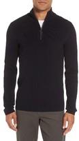 Vince Men's Half Zip Mock Neck Sweater