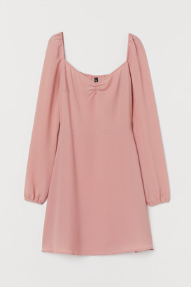 H&M Creped Dress - Pink