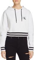 Calvin Klein Jeans Cropped Logo Sweatshirt