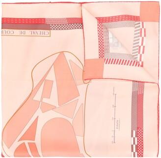 Hermes Pre-Owned Silk Duck Print Tie
