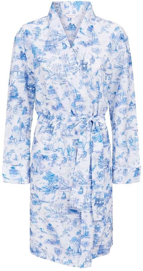 Derek Rose Ledbury Japanese Garden Dressing Gown