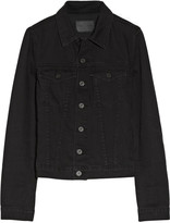 Proenza Schouler Washed cotton-blend denim jacket
