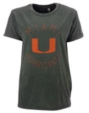 Royce Apparel Inc Women's Miami Hurricanes Vintage Wash T-Shirt