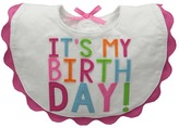Mud Pie Birthday Bib