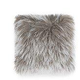 UGG Mongolian Sheepskin & Faux-Suede Square Feather Pillow