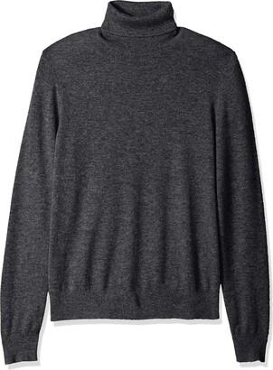 Buttoned Down Amazon Brand Men's 100% Premium Cashmere Turtleneck Sweater
