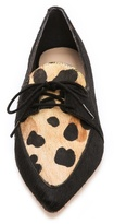Loeffler Randall Leopard Haircalf Oxfords