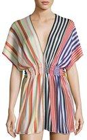 Missoni Mare Striped Knit Beach Dress, Multi