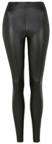 George Faux Leather Leggings