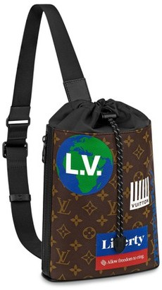 Louis Vuitton Chalk Sling Bag