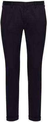 Paul Smith 17.5cm Stretch Cotton Slim Pants