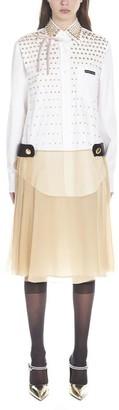 Prada Layered Shirt Dress