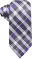 Alfani Men's Spectrum Lexington Plaid Slim Tie, Only at Macy's