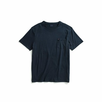 Tommy Hilfiger Men's Adaptive Pocket T Shirt with Magnetic Buttons at Shoulders