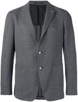 Tagliatore woven blazer - men - Cotton/Cupro - 50