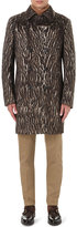 Etro Leopard-print Wool-blend Coat