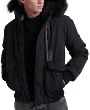 Superdry Men's Everest Hooded Bomber Jacket