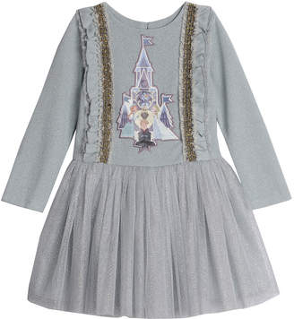 Pippa Disney X & Julie Disney Frozen Castle Glitter Tutu Dress, Size 4-8