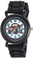 Disney Boy's 'Cars 3' Quartz Plastic and Silicone Casual Watch
