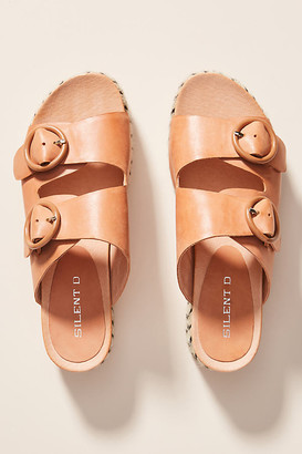 Silent D Platform Espadrille Sandals By in Orange Size 36