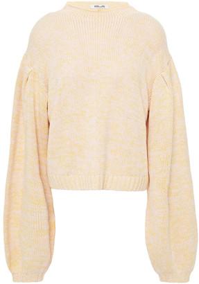 Baum und Pferdgarten Christea Cutout Marled Cotton-blend Sweater