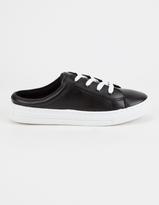 Qupid Fashion Womens Slide Sneakers