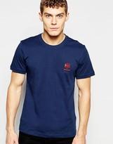 Reebok Classic T-shirt In Blue Ak0432