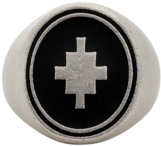 Marcelo Burlon County of Milan Silver Cross Ring