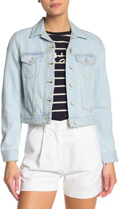 French Connection Macee Crop Denim Jacket