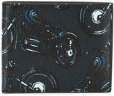 Salvatore Ferragamo motorcycle printed billfold wallet - men - Leather - One Size