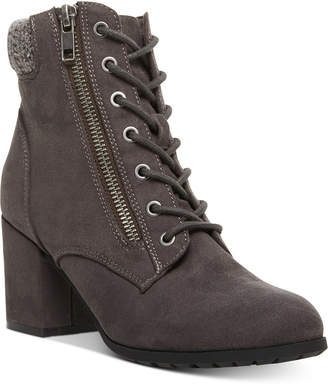 Madden-Girl Tell Lace-Up Booties