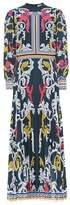 Mary Katrantzou Printed crêpe dress