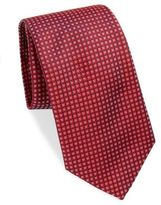 Thomas Pink Gordon Patterned Raw Silk Tie