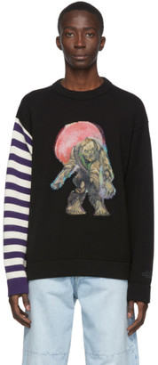 Acne Studios Black Monster in My Pocket Edition Zombie Sweater