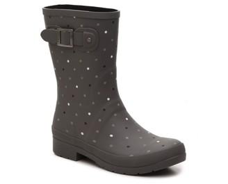 Chooka Downpour Dot Rain Boot