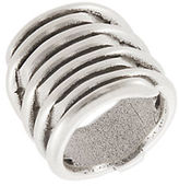 Uno de 50 Stacked Tornado Ring